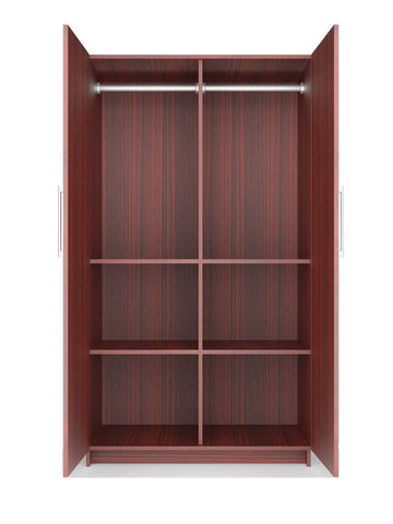 Double Door Wardrobe Eight - MDF