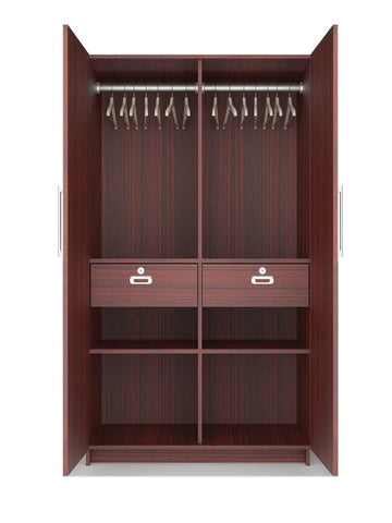 Double door wardrobe one PLPB