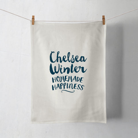HOMEMADE HAPPINESS TEATOWEL