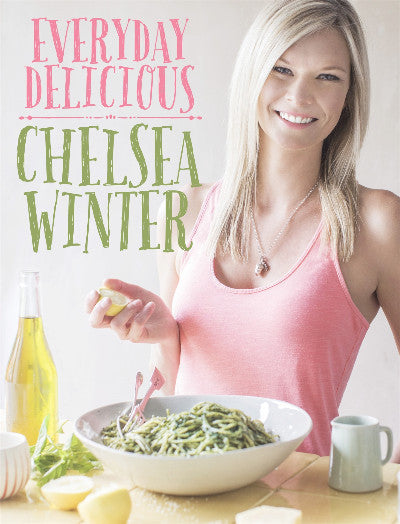 Everyday Delicious cookbook cover - by Chelsea Winter