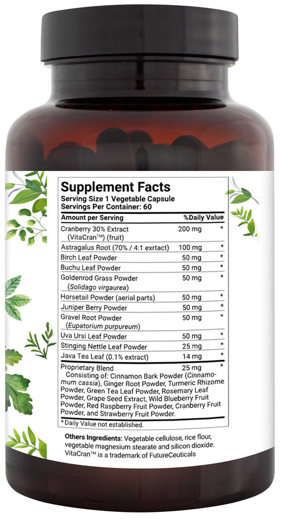 Kidney Support Supplement - 20+ Natural Ingredients