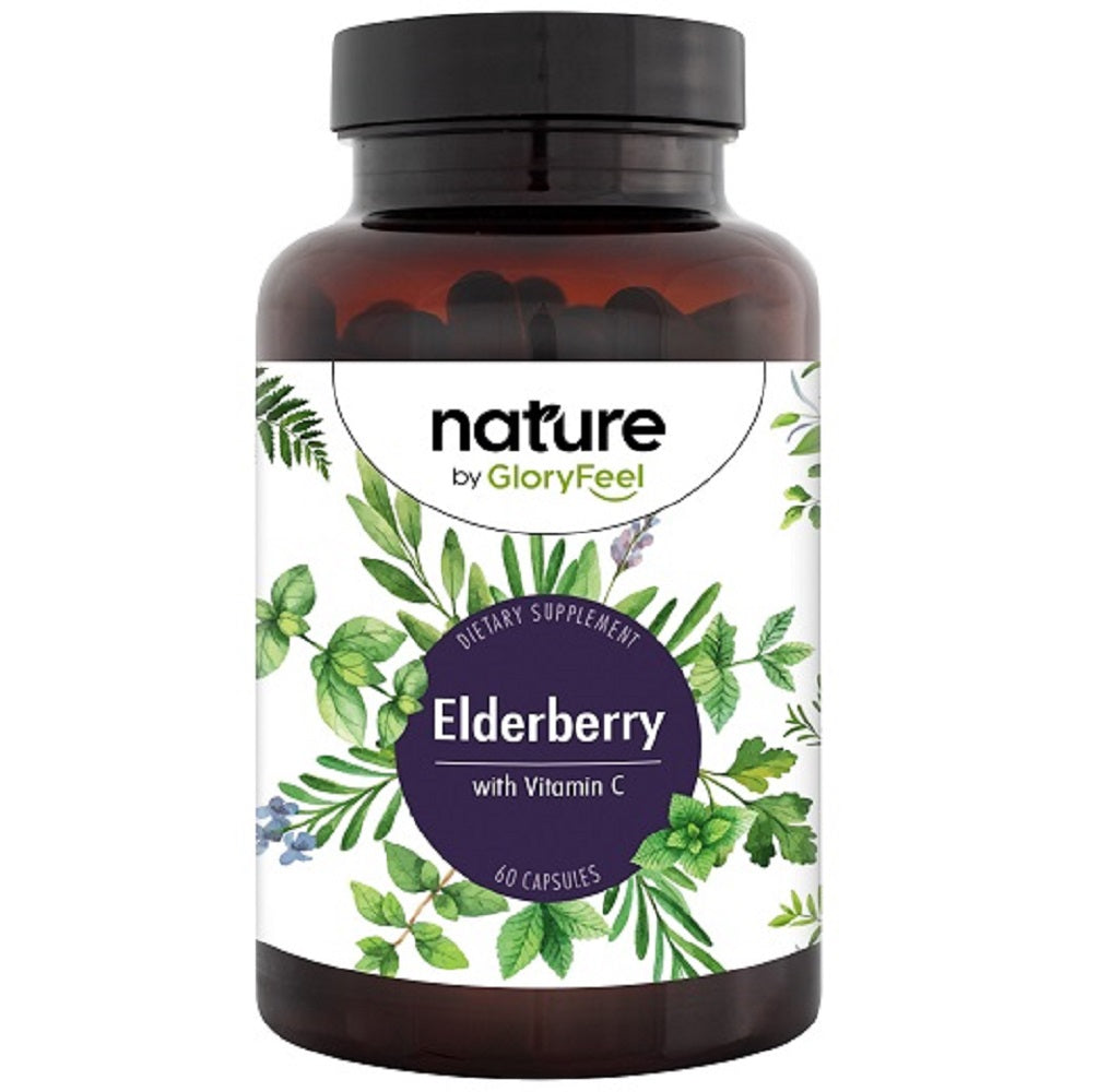 Elderberry Capsules - 1100mg - 60 Capsules