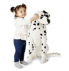 Melissa & Doug Dalmatian Dog Giant Stuffed Animal Toy