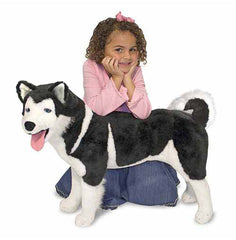 Melissa & Doug Husky Dog Giant Stuffed Animal Toy