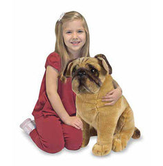Melissa & Doug Pug Dog Stuffed Animal Toy