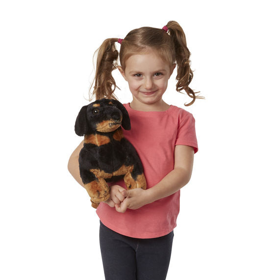 Melissa & Doug Dachshund Dog Giant Stuffed Animal Toy