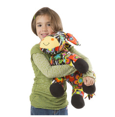 Melissa & Doug Zelda Zebra Stuffed Animal Toy | Singpet.Com