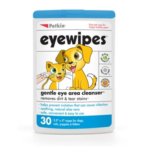 Petkin Eyewipes For Dogs & Cats | Singpet.COM