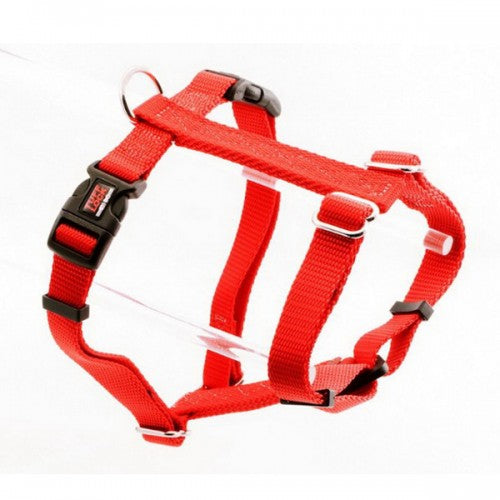 Tuff Lock Figure-H Dog Harness (Solid Red) | Singpet.Com