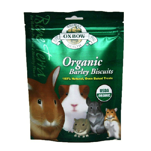 Oxbow Organic Barley Biscuits For Small Pets | Singpet.COM