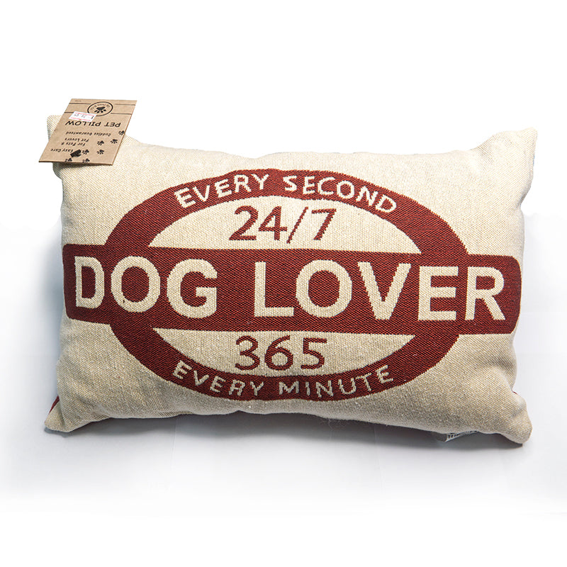 Park B. Smith Vintage House Pillow, Dog Lover Pattern