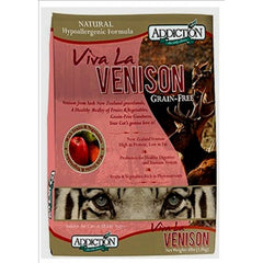 Addiction Grain Free Viva La Venison Dry Cat Formula | Singpet.COM