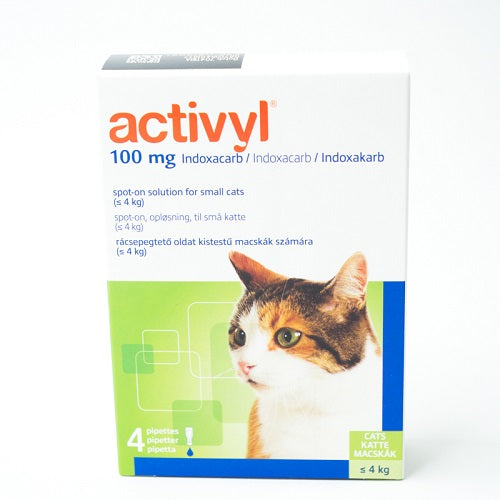 Activyl Spot-on 100mg For Small Cats below 4 kg (2-9 lbs) | Singpet.Com