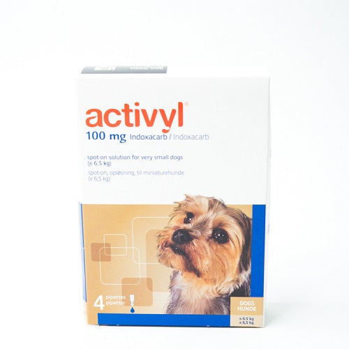Activyl Spot-on 100mg For Very Small Dogs 1.5-6.5 kg (4-14 lbs) | Singpet.Com