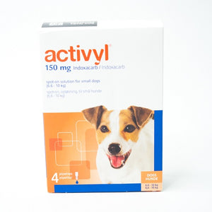 Activyl Spot-on 150mg For Small Dogs 6.6-10 kg (15-22 lbs) | Singpet.Com