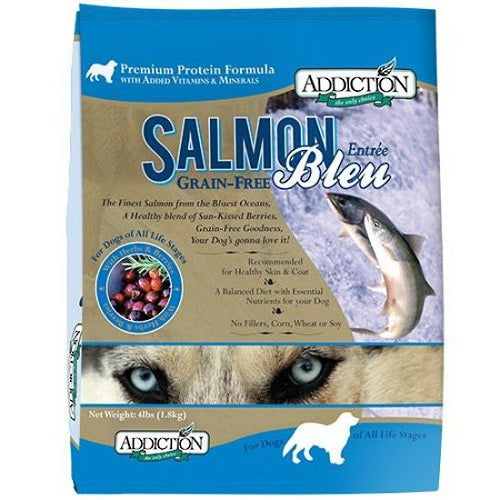 Addiction Salmon Bleu Grain Free Dry Dog Food | Singpet.Com.Sg