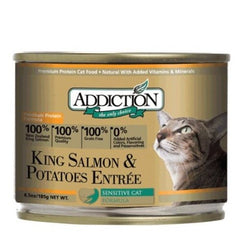 Addiction King Salmon & Potatoes Entree Cat Canned Food | Singpet.COM