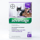 Advantage Flea & Tick Spot-on for Cats, Kittens & Rabbits