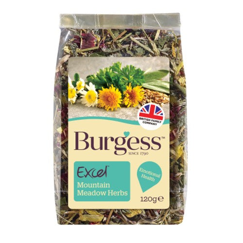 Burgess Excel Mountain Meadow Herbs Snacks | Singpet.COM