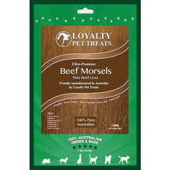 Loyalty Pet Beef Morsels Dog & Cats Treats | Singpet.COM