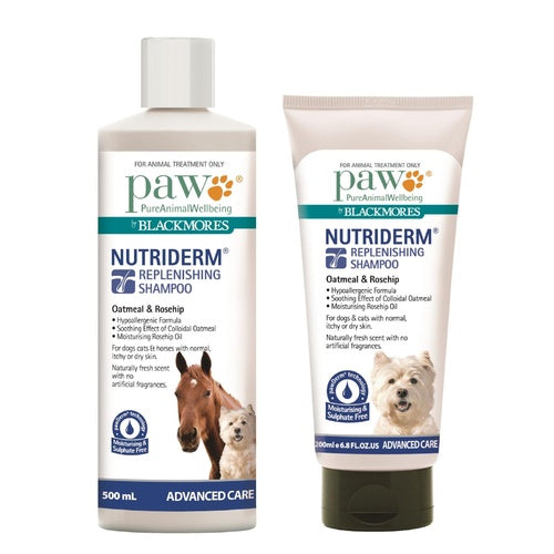 Paw Nutriderm Replenishing Shampoo For Dogs & Cats