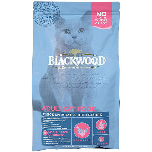 Blackwood Adult Cat Food - Chicken Meal & Brown Rice Recipe | Singpet.COM