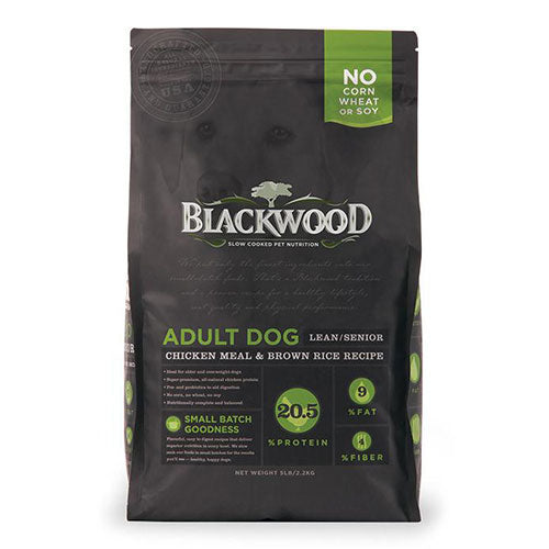 Blackwood Adult Dog Lean/Senior Chicken Meal & Brown Rice Recipe | Singpet.COM