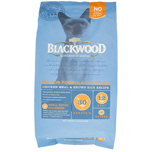 Blackwood Indoor Formula Cat Food - Chicken Meal & Brown Rice Recipe | Singpet.COM
