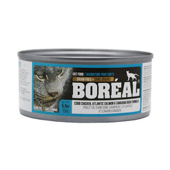 Boreal Cobb Chicken, Atlantic Salmon and Canadian Duck Wet Cat Food | Singpet.Com