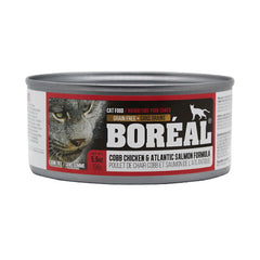 Boreal Cobb Chicken and Atlantic Salmon Wet Cat Food | Singpet.Com