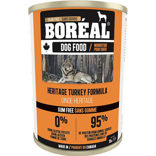 Boreal Canadian Heritage Turkey Formula Wet Dog Food | Singpet.Com
