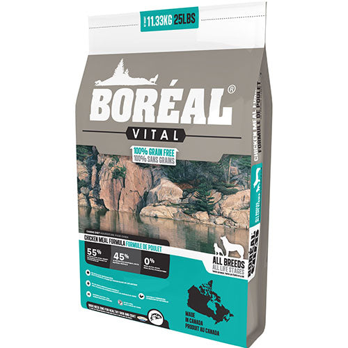 Boreal Vital All Breed Chicken Meal Formula Dry Dog Food | Singpet.Com