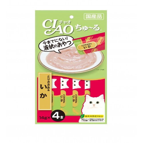 CIAO ChuRu Chicken Fillet & Squid Cat Treats | Singpet.COM