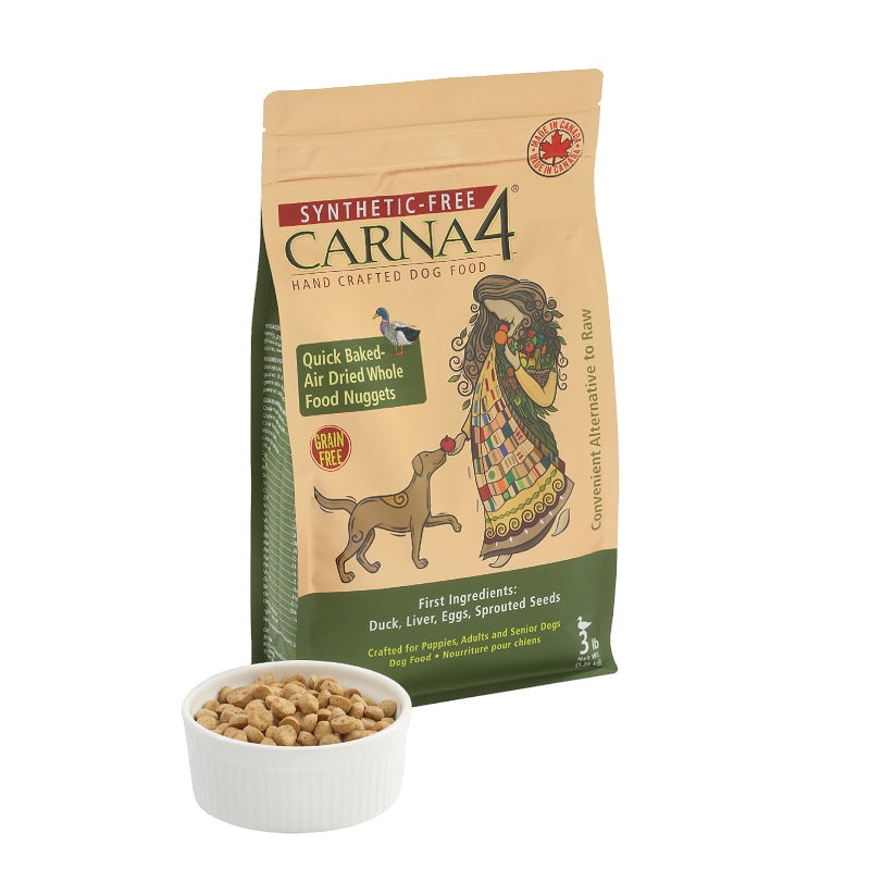 Carna4 Dog Food – Grain-Free Duck | Singpet.Com