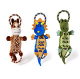 Charming Pet Ropes A Go Go Crinkle Toys for Dogs | Singpet.Com.Sg