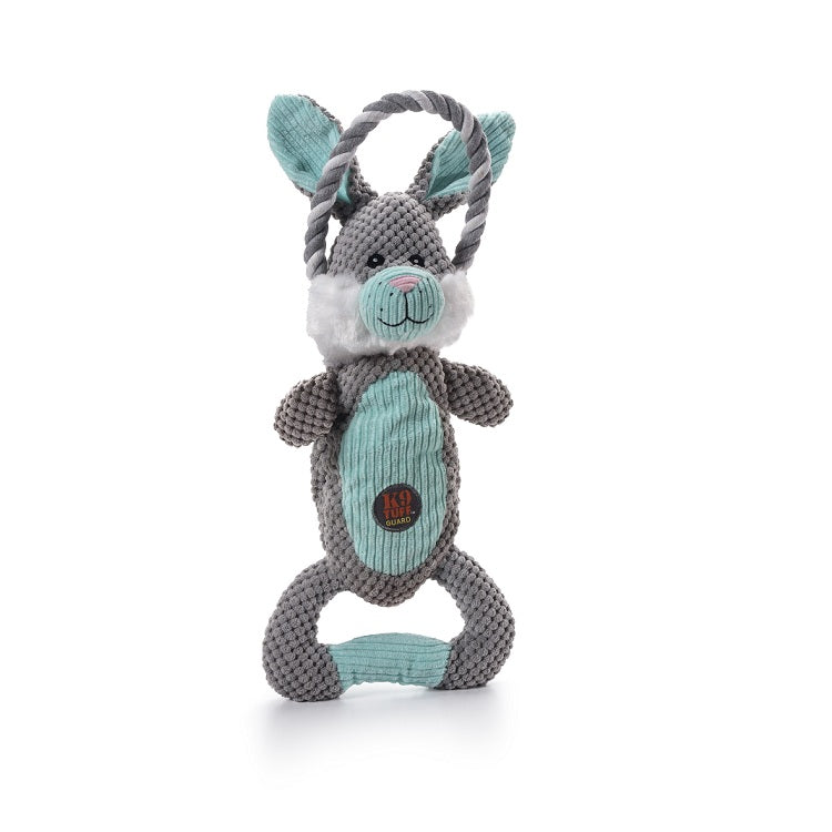 Charming Pet Scrunch Bunch Squeaky Dog Toy, Bunny | Singpet.Com