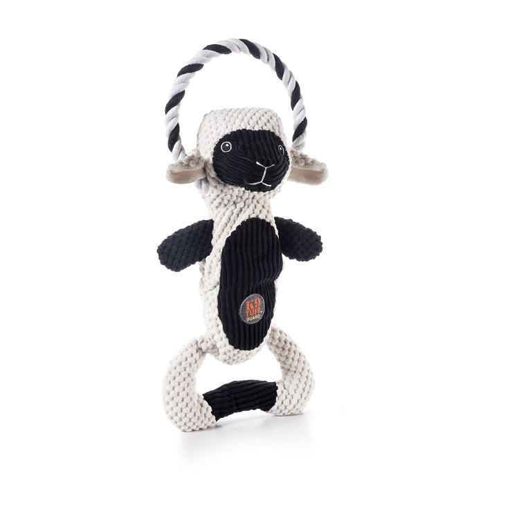 Charming Pet Scrunch Bunch Squeaky Dog Toy, Lamb | Singpet.Com