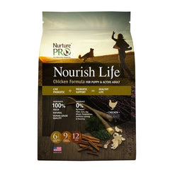 Nurture Pro Nourish Life Chicken Formula for Puppy & Active Adult - Dry Dog Food