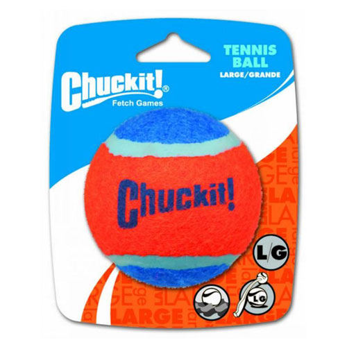 "Chuckit! Tennis Ball Toy For Dogs - Large 3"" (8cm) Diameter 1pk 