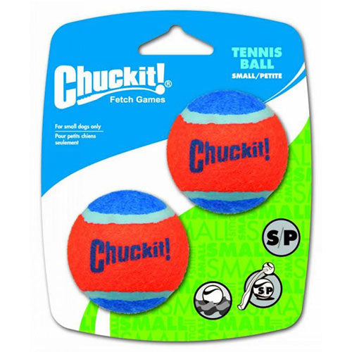 "Chuckit! Tennis Ball Toy For Dogs - Small 2"" (5cm) Diameter, Pack of 2 
