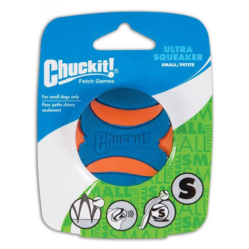 Chuckit! Ultra Squeaker Ball For Dogs, Small | Singpet.Com