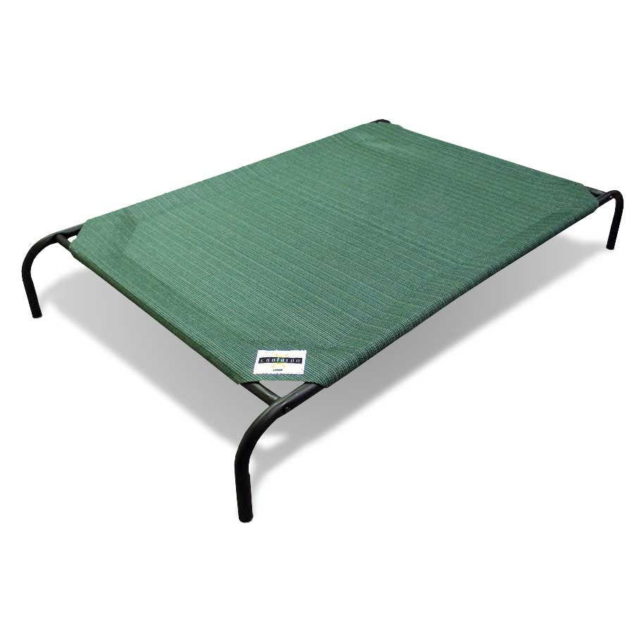 Coolaroo Cot Style Elevated Pet Bed For Dogs & Cats (Brunswick Green) | Singpet.Com