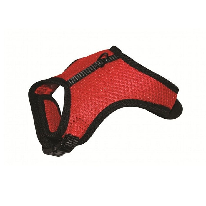 Prestige Cushionaire Dog Harness, Red | Singpet.Com