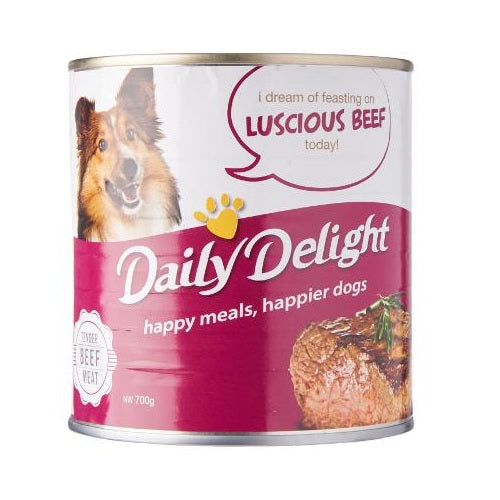 Daily Delight Luscious Beef, 700 g | Singpet.Com