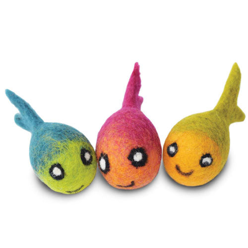 Dharma Dog Karma Cat Pack of 3 Fish Toy For Cats | Singpet.Com