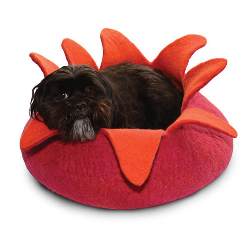 Dharma Dog Karma Cat Petal Basket Magenta For Cats & Small Dogs | Singpet.Com