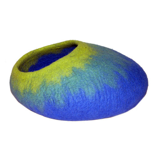 Dharma Dog Karma Cat Royal Blue Ombre Cat Cave | Singpet.Com