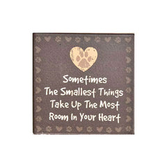 Dog Speak Absorbent Stone Coaster - Sometimes The... | Singpet.Com