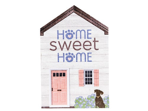 Dog Speak Large Rustic House Sign Home Sweet Home | Singpet.COM