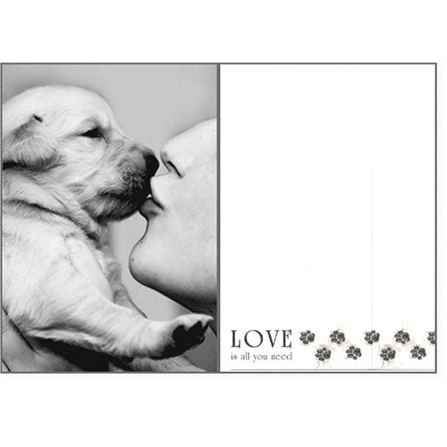Dog Speak Loving Card - Love Is All You Need | Singpet.Com